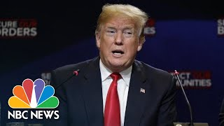 President Donald Trump Doubles Down On Labeling MS-13 Gang Members As 'Animals' | NBC News - NBCNEWS