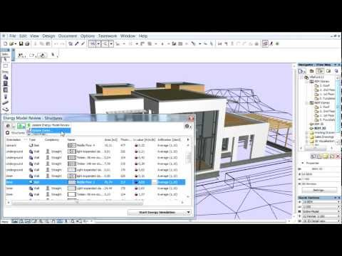 ArchiCAD 16 - Energy Evaluation - Energy Model Review