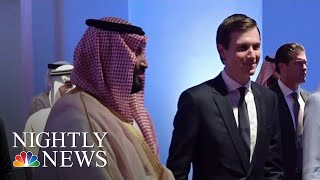 Jared Kushner Sidesteps Question About Khashoggi Murder In Rare Interview | NBC Nightly News - NBCNEWS