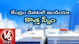 NDA government plans for internet in rural areas - Digital India - V6NEWSTELUGU