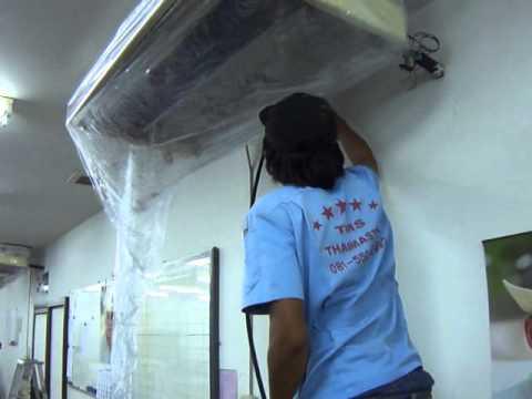 ล้างแอร์ นิคมฯบางปู แพรกษา สายลวด ปากน้ำ ท้ายบ้าน  สมุทรปราการ 081-550-9992