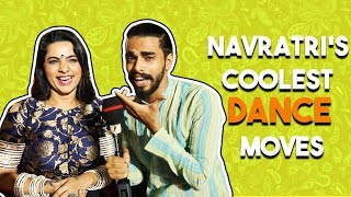 Navratri 2018 | Can you name all Garba steps? | Falguni Pathak Event - ZOOMDEKHO