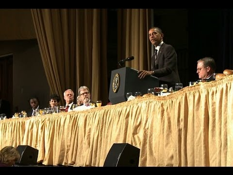 President Obama Speaks at the 2012 National Prayer Breakfast