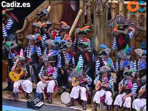 Sesión de Preliminares, la agrupación Los cabrones actúa hoy en la modalidad de Coros.