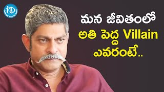 Money is Our Biggest Enemy - Jagapathi Babu | Frankly With TNR | Celebrity Buzz With iDream - IDREAMMOVIES