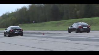 شاهد: BMW M5 تبهر الجميع بسباقات سحب في أوروبا