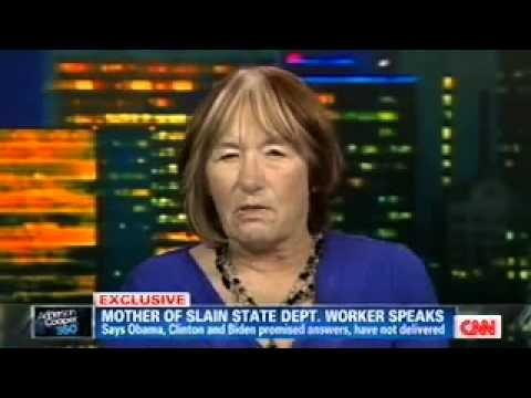 Mother of slain State Dep't official is tired of being ignored by Obama Admin