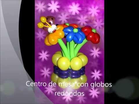 Ваза для букета цветов из шаров.