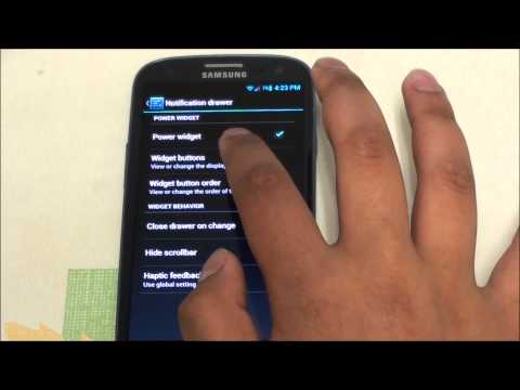 Samsung Galaxy SIII (SGH - T999) with Jelly Bean, CyanogenMod 10