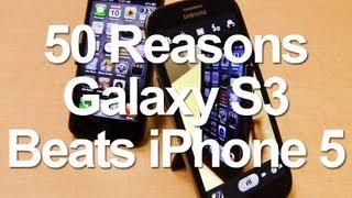 Samsung Galaxy S3 için 50 neden