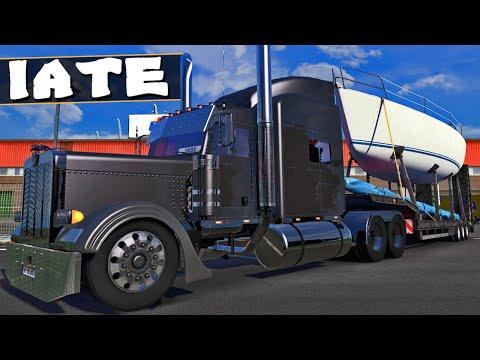 Caminhão Turbinado - Euro Truck Simulator 2