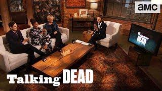 'Negan Dies or Joins Rick's Group' Andrew J. West & Yvette Brown Predictions Ep. 812 | Talking Dead - AMC
