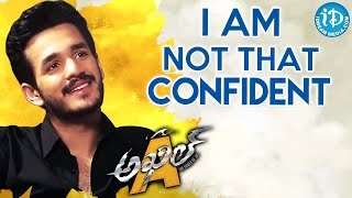 I am Not That Confident in Real Life - Akhil Akkineni || Talking Movies With iDream - IDREAMMOVIES