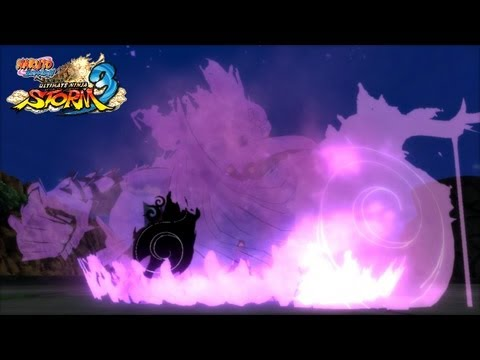 Naruto: Ultimate Ninja Storm 3: EMS Sasuke vs Yugito (Ougi &amp; Awakening)