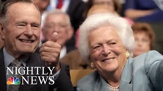 Barbara Bush Remembered For Values And Impact At Funeral Service | NBC Nightly News - NBCNEWS
