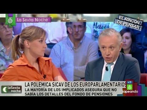 Zapeando- Los dardos de Eduardo Inda a Tania Sánchez en 'laSexta Noche'