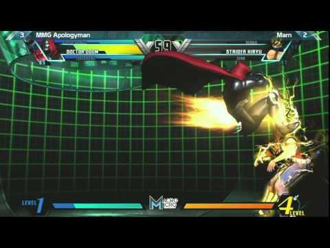 UMVC3: MMG Apologyman vs Marn - FT7 - Alpha Clash 11