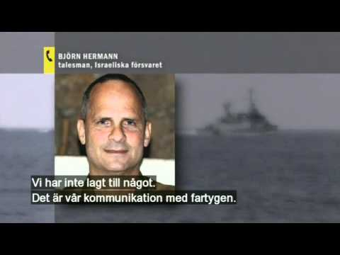 Manipulated radio communications Flotilla/Israely Navy
