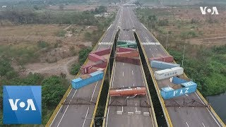 Venezuela Strengthens Blockade at Colombia Border to Prevent Aid - VOAVIDEO
