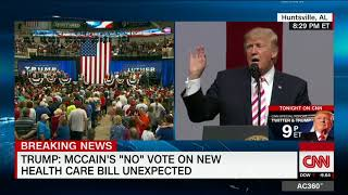 Trump: Media won't show crowd (as CNN does) - CNN