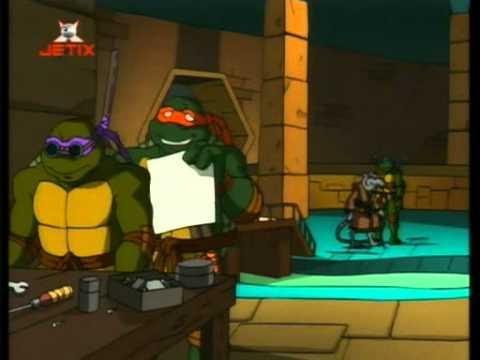 TMNT PL Wojownicze żółwie Ninja 2003  - Casey Jones 01E04S