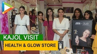 Kajol visit Health & Glow store in a mall - HUNGAMA