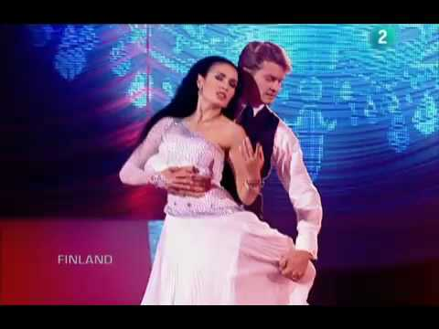 Eurovision London, 2008 Dance Contest, Ranks 11th to 8th