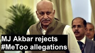 Me Too: Junior minister of external affairs MJ Akbar denies allegations, says will take legal action - NEWSXLIVE