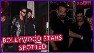 Ranveer Singh, Sanjay Dutt, Karan Johar And Many Other Bollywood Celebs' Weekend Party Update - ZOOMDEKHO