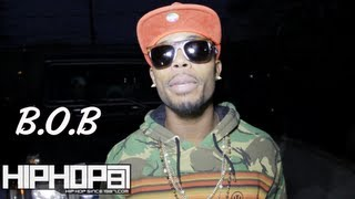 B.o.B. Talks About New Album & His Connection With His Fans