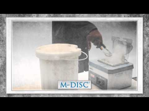 M-DISC: Designed To Endure - Liquid Nitrogen