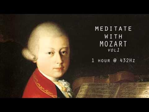 Meditate with Mozart @ 432Hz Classical Piano | Vol 1
