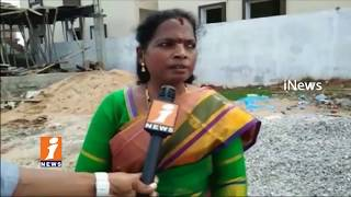 HMDA Officials Demolished Illegal Construction Houses In Badangpet | iNews - INEWS
