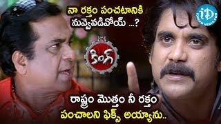 Nagarjuna - Brahmanandam Most Hilarious Comedy Scene | King Movie Scenes | Nagarjuna | Trisha - IDREAMMOVIES