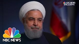 Exclusive: Rouhani Calls U.S. Threat To Shut Down Iranian Oil Exports An 'Empty Promise' | NBC News - NBCNEWS