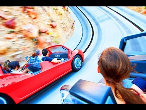 Radiator Springs Racers! (HD ON-RIDE) Front Seat POV Carsland Disney's California DCA