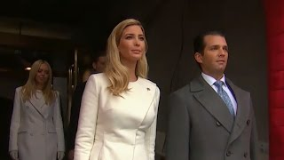 Trump Children Arrive at Their Father's Inauguration - ABCNEWS