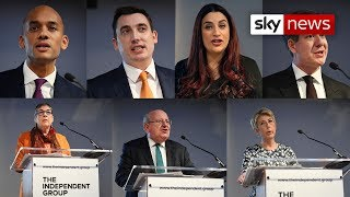 Breaking News: Seven Labour MPs resign to form independent group - SKYNEWS