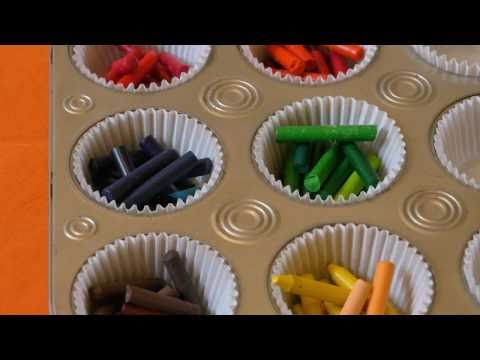 How to make Muffin Crayons