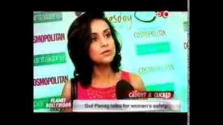 Gul Panag speaks in support for women