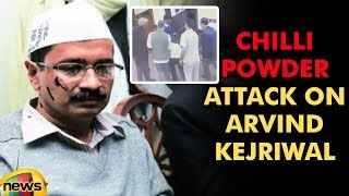 Chilli Powder Assult on Arvind Kejriwal inside Delhi Secretariat | Arvind Kejriwal News | Mango News - MANGONEWS