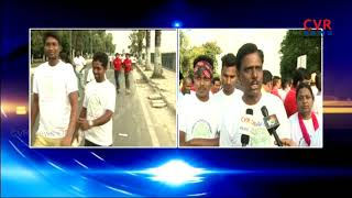 Ayurveda Day | Run Held for Awareness on Ayurveda's | at Necklace Road Hyderabad | CVR NEWS - CVRNEWSOFFICIAL