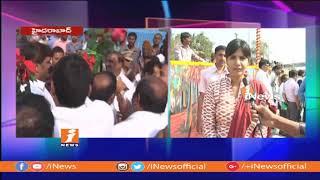GHMC Zonal Commisioner Harichandana Speaking about Ayyappa Society Underpass Way | iNews - INEWS