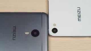 Обзор сравнение Meizu M3 Note и U20