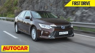 2015 Toyota Camry Hybrid | First Drive | Autocar India