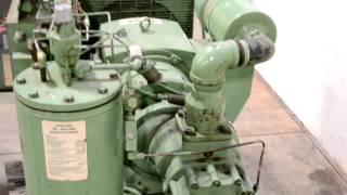 sullair 30 hp model 10 30 acac 24kt rotary screw air compressor rh youtube com