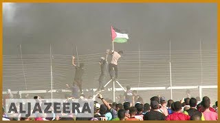 🇵🇸 Gaza marks more than 100 days since mass protests began | Al Jazeera English - ALJAZEERAENGLISH