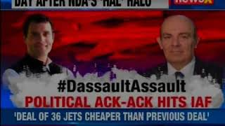 Nation 9: Poll time 'Flak' starving IAF ? Dassault CEO respond to RaGa's Allegations - NEWSXLIVE