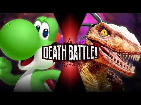 Yoshi VS Riptor - Death Battle!