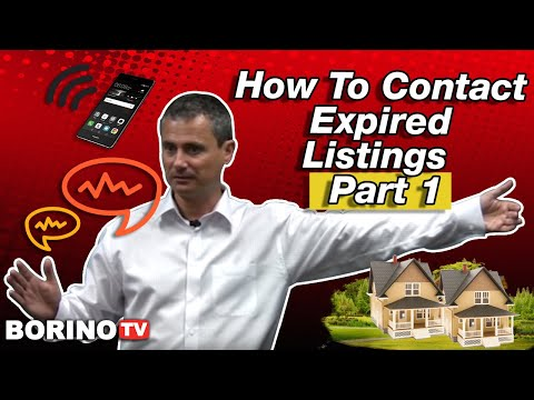 How To Contact Expired Listings - Live Workshop With Borino - Part 1